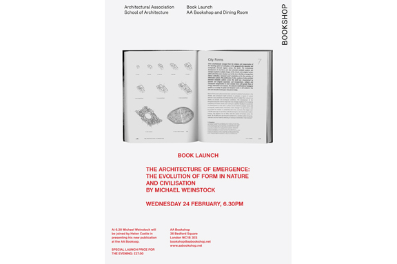 Michael Weinstock book launch Wednesday 24 February 6.30