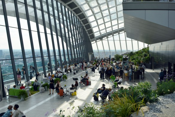 Members Trip_20 Fenchurch Street Sky Garden with Peter Rees