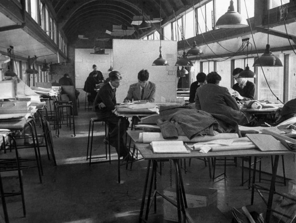 Architectural Association school life 1950s