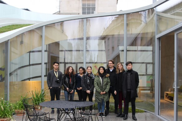 First Year_Site Visit_Steven Holl's_Maggie Centre Barts London_F